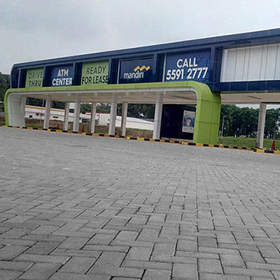 Conblock ATM Drive Thru Soewarna Business Park 2