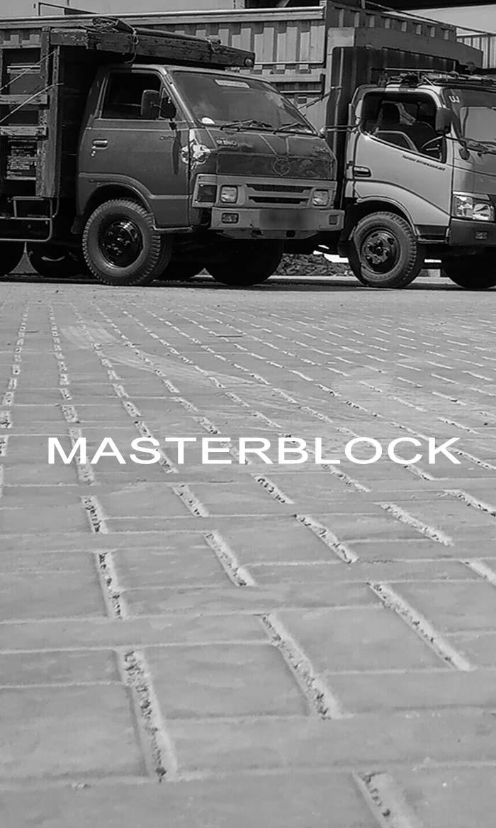 Paving Block Masterblock Platinum K400
